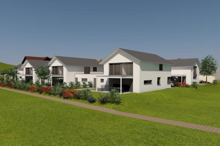 Einfamilienhaus-Siedlung Brittnau