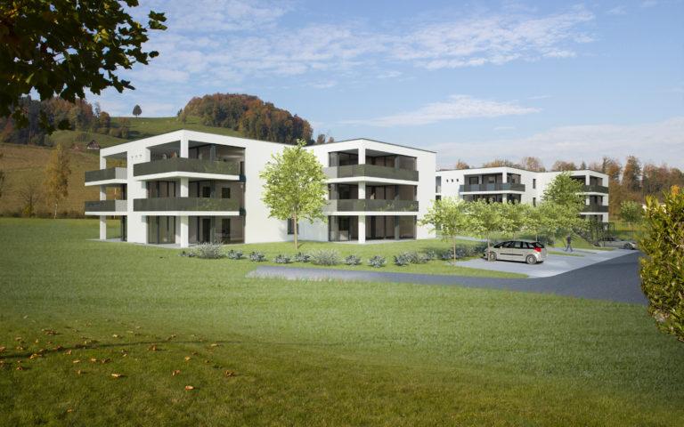"""Wohnsiedlung """"Oberdorfmatte II"""" Gettnau"""