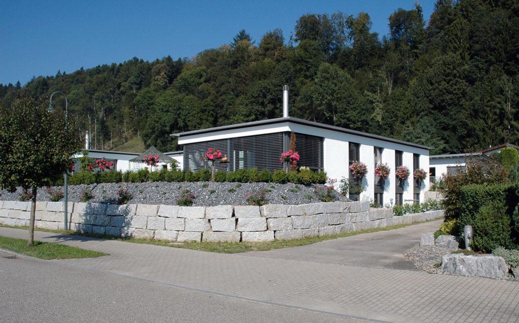 Doppeleinfamilienhaus Zell