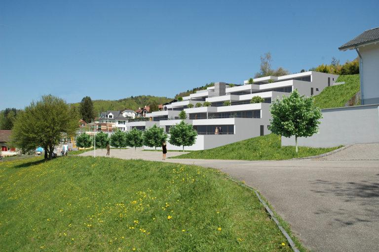 """Terrassensiedlung """"Juraweg"""" Schöftland"""