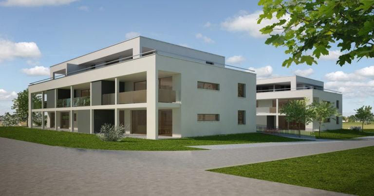 """Mehrfamilienhaus """"Geissbächli"""" Dagmersellen"""