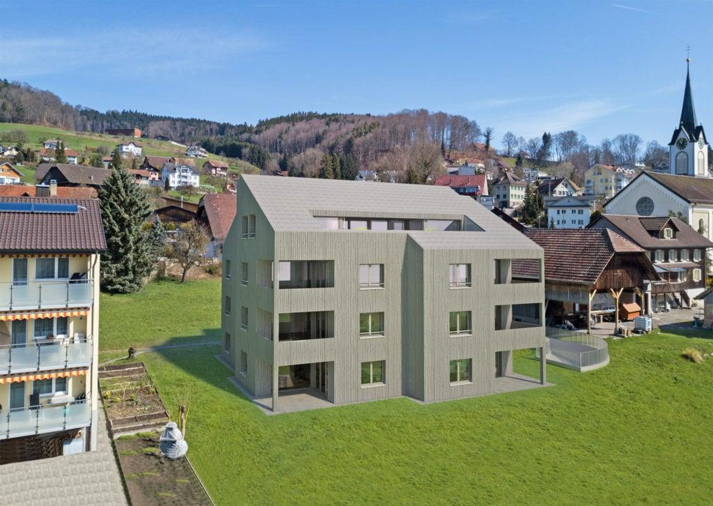 Mehrfamilienhaus Dorfstrasse Uffikon