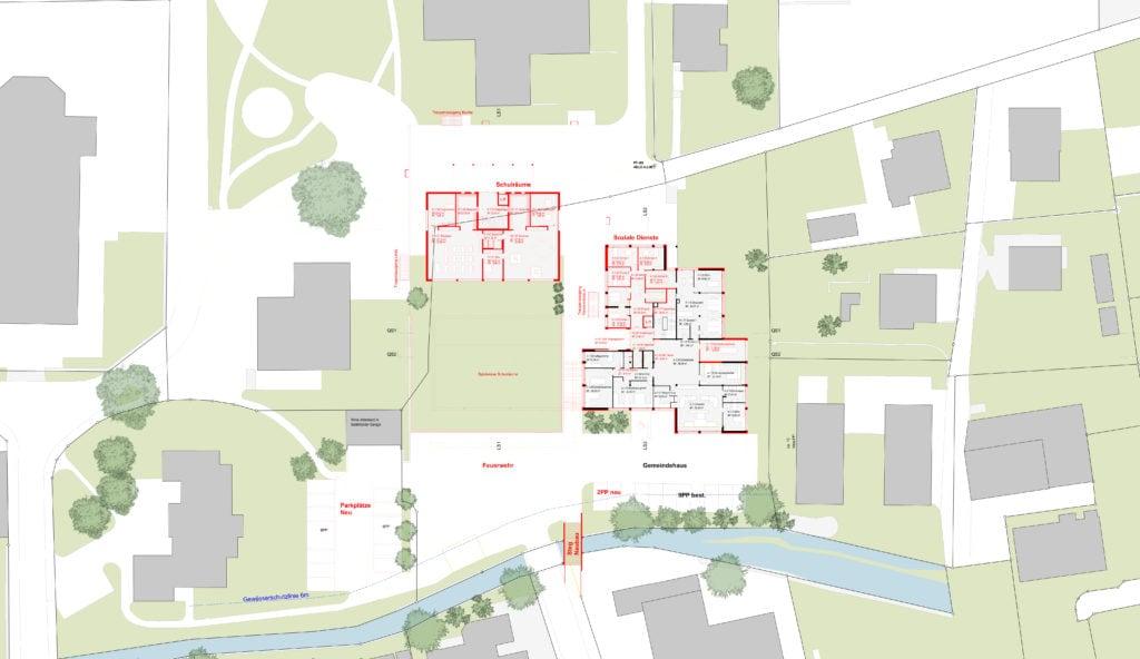 FAKT | Feuerwehr, Schule, Gemeindehaus, Tiefgarage Dagmersellen